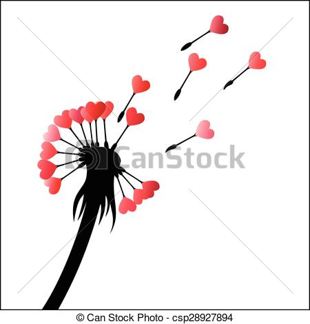 Seeds clipart dandelion With Dandelion Seed Vector