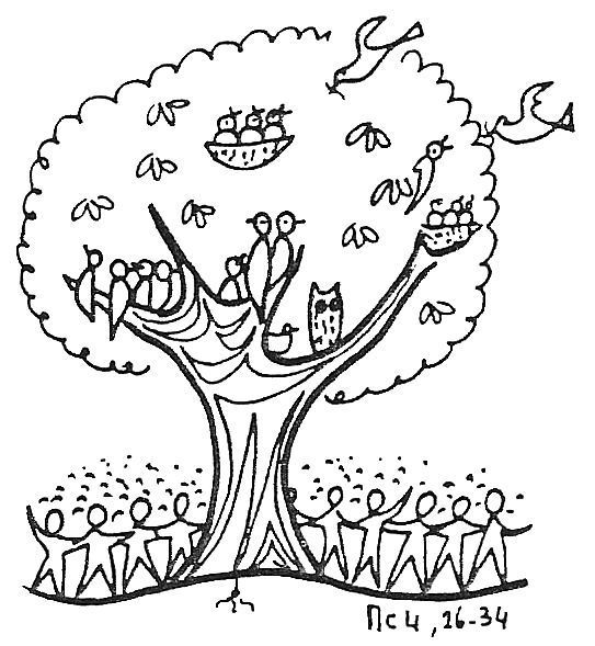 Plant clipart mustard seed Tree The parable Page Of