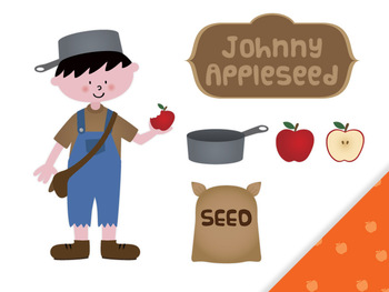 Seeds clipart johnny apple Johnny Appleseed clip Free Appleseed
