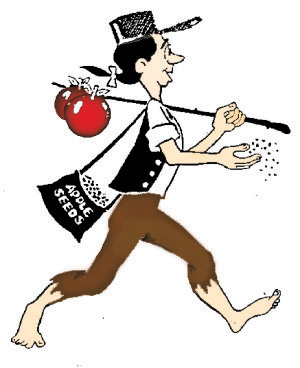 Seeds clipart johnny apple Life Johnny Appleseed  Andrea