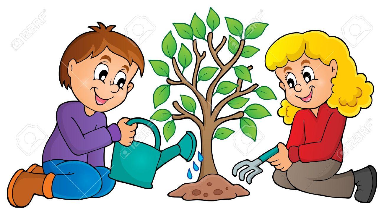 Seed clipart kid plant Planting Sapling A Clipart Clip