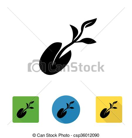 Seeds clipart little plant Icon plant from plant seedling