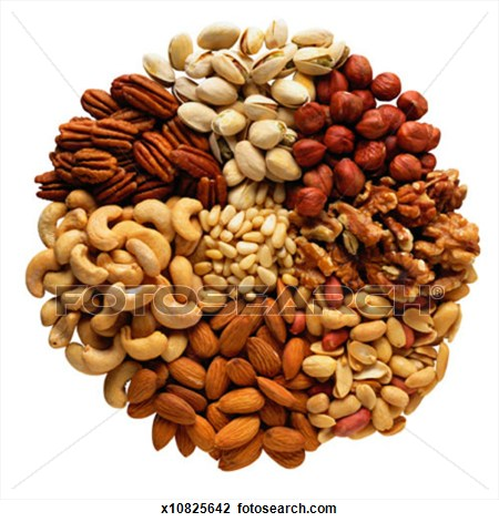 Dried Fruit clipart mixed Mixed cliparts Clipart Nuts Nuts