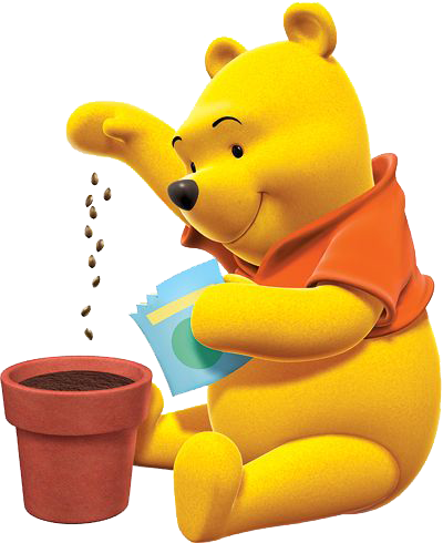 Seed clipart plant seed The planting Garden seeds Pooh