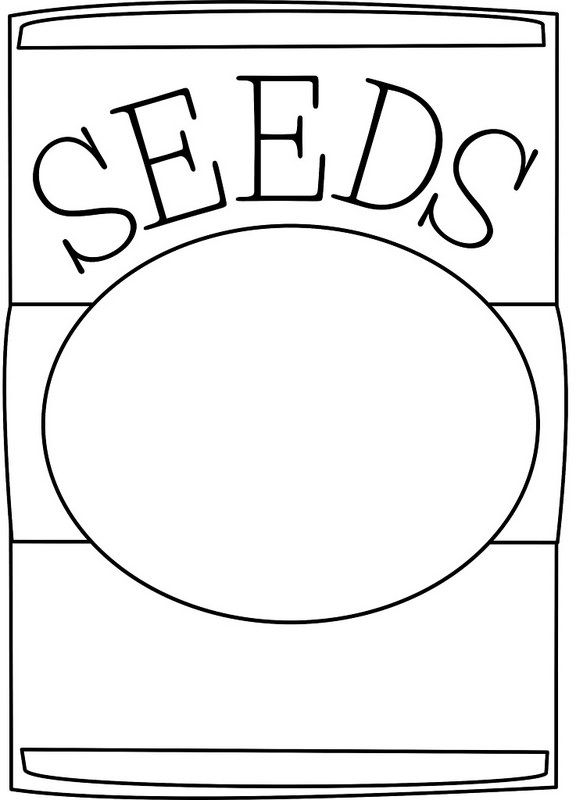 Seed clipart seed packet Clip about seed images art