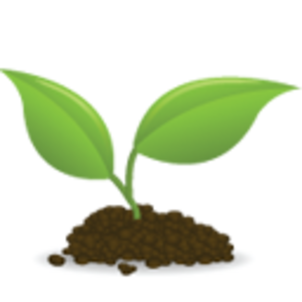 Soil clipart tree sprout As: Clker image this vector