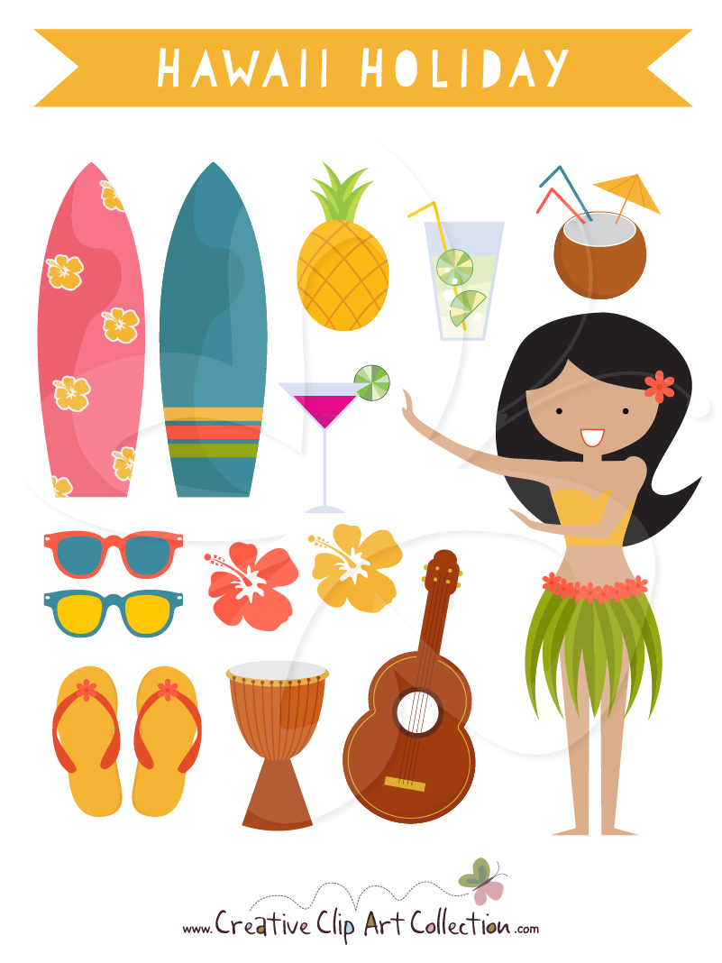 Seedy clipart amazing race Dancer with with set Hula