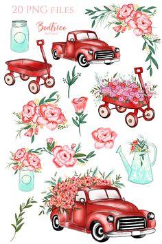 Seedy clipart amazing race Flower planner  illustration wedding