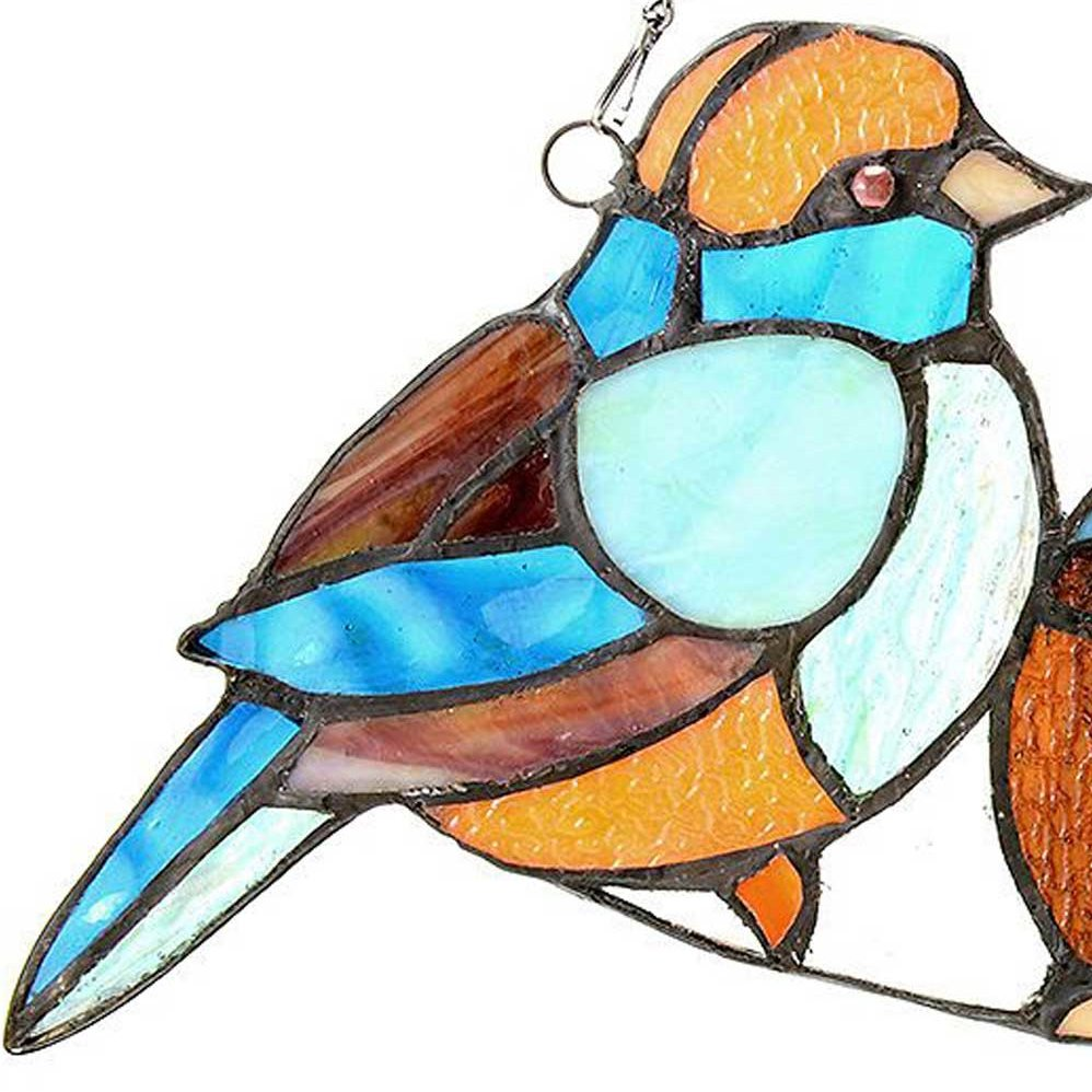 Seedy clipart bird  Panel Song Glass Style
