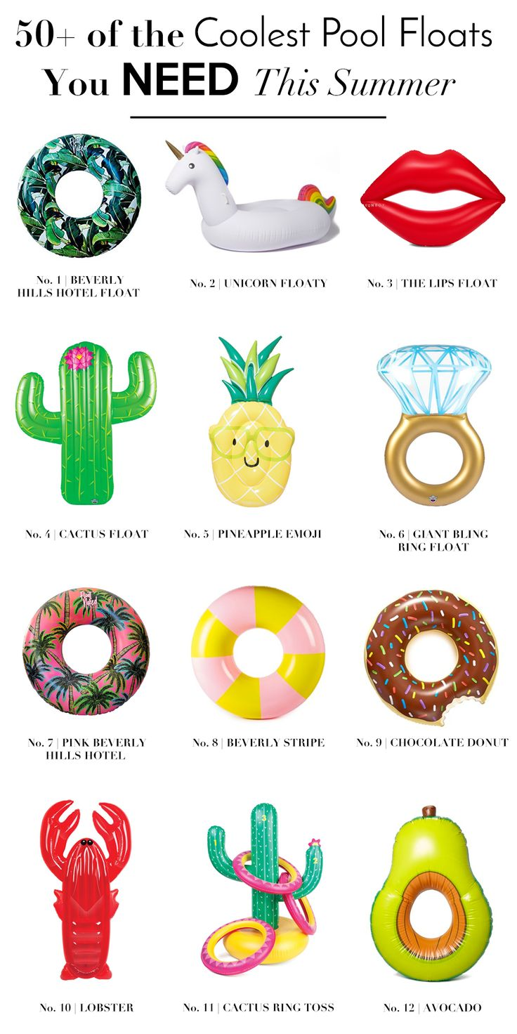 Morning clipart pool toy Coolest Cool floats of Floats