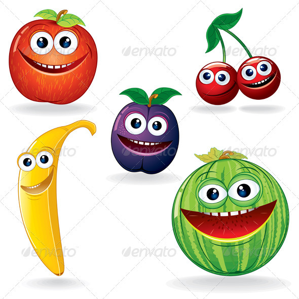 Seedy clipart funny Comic fruit Fruits drawing and