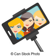 Selfie clipart Young 5 three Illustrations 932