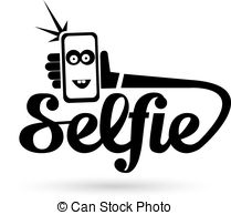 Selfie clipart Concept 5 Phone Illustrations 452