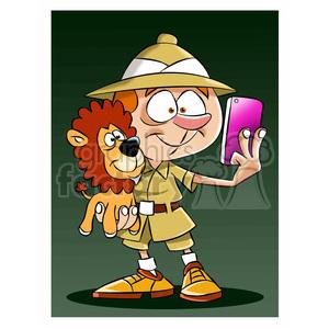 Selfie clipart cartoon character #3