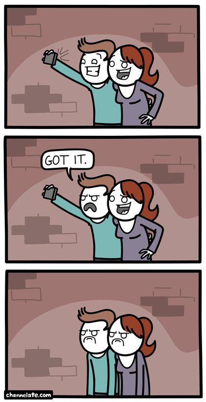 Selfie clipart comic #11