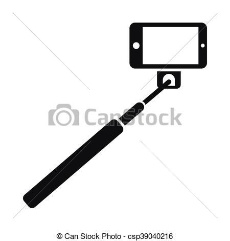 Selfie clipart selfie stick #11