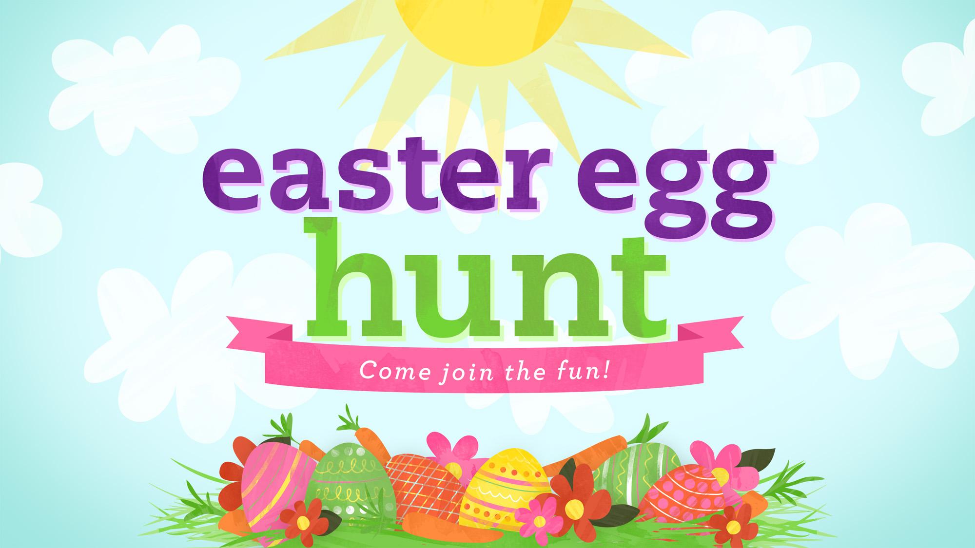 Sensen clipart easter egg hunt Hunt easter egg collections Egg