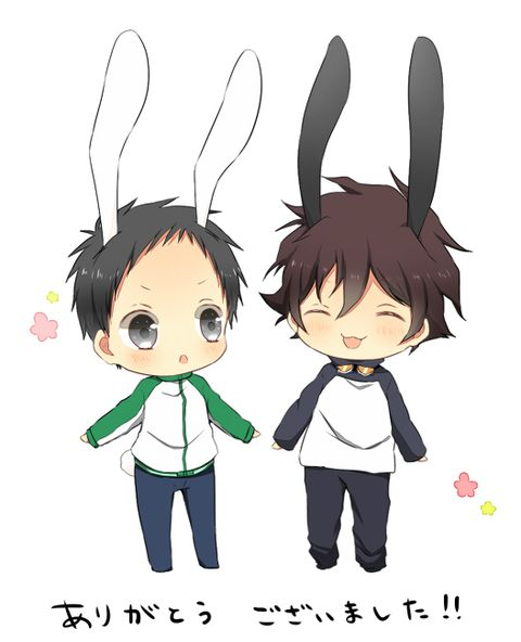 Sensen clipart gestures On Leo Bunny and Bunny