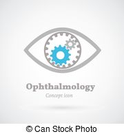 Sensen clipart ophthalmologist Ophthalmology abstract or vector