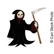 Sensen clipart scythe Of  reaper IllustrationsSee holding