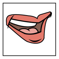 Tongue clipart sense taste #3