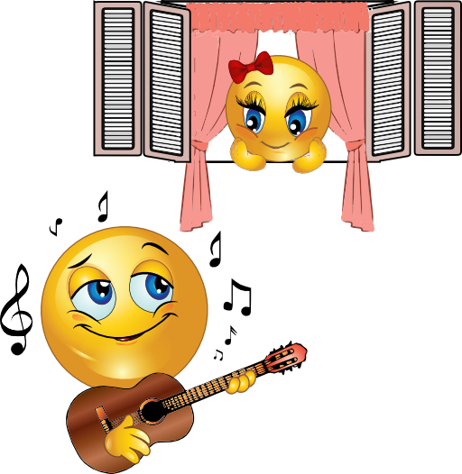Serenade clipart group singing Clip Love Free Art Images