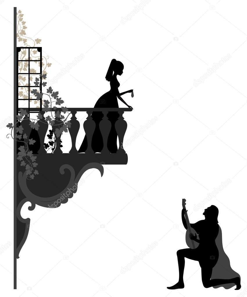 Serenade clipart black and white The Vector Serenade Serenade —