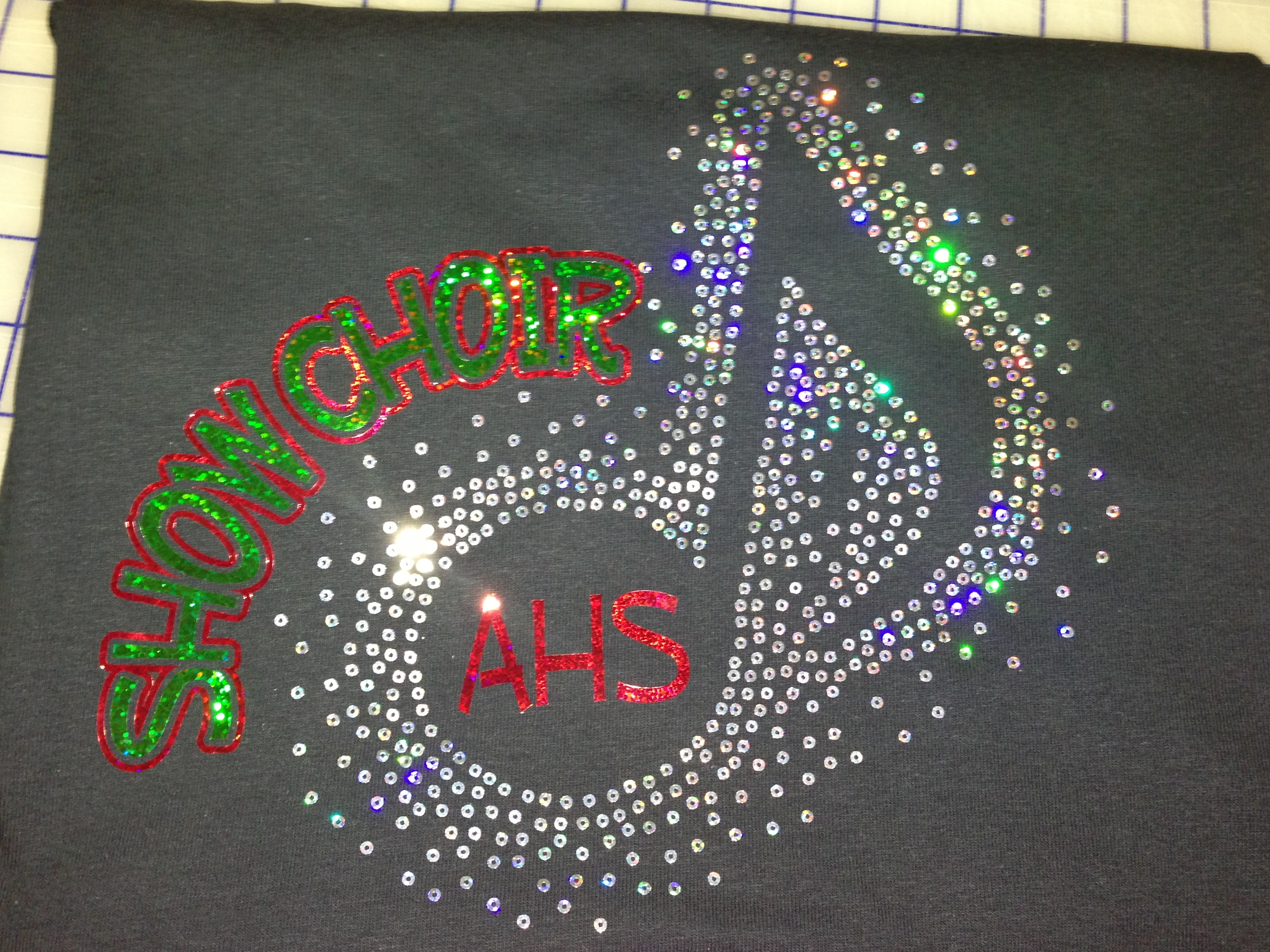 Serenade clipart show choir Show Choral sequin / images