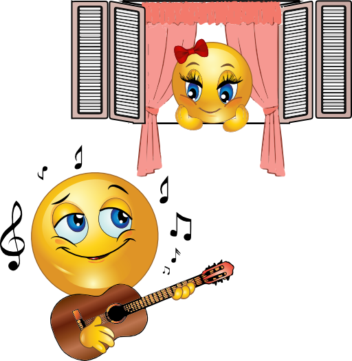 Mood clipart emoji Emoticon Smiley Romance Serenade Serenade