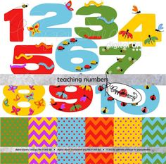 Serenade clipart teacher Kindergarten Clipart Clipart Teaching Numbers