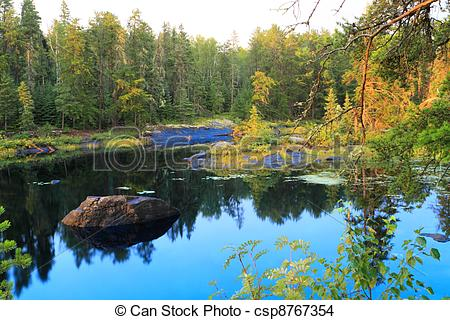 Serene clipart river scene Photo serenity lake Serene Beautiful