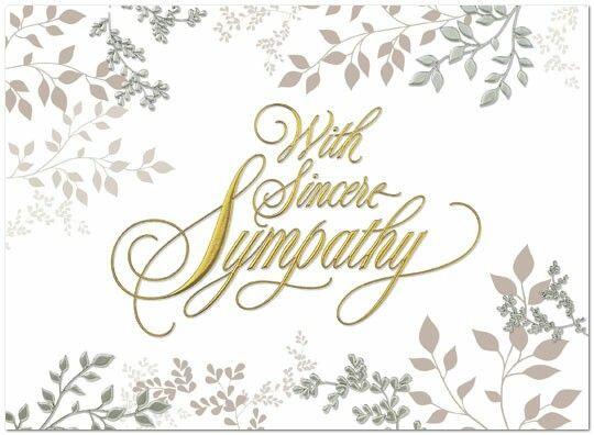 Serenity clipart condolence #13