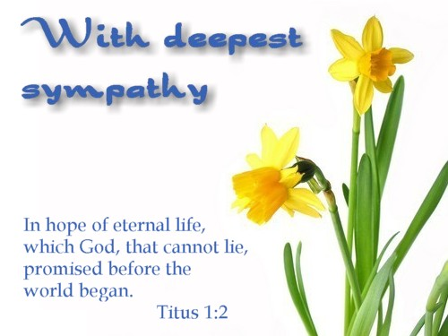 Serenity clipart condolence #15