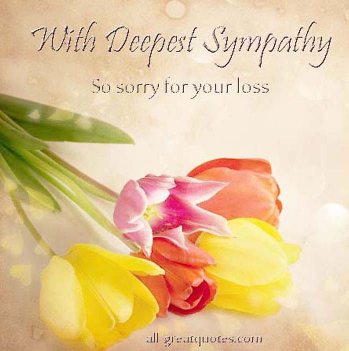 Serenity clipart condolence #5
