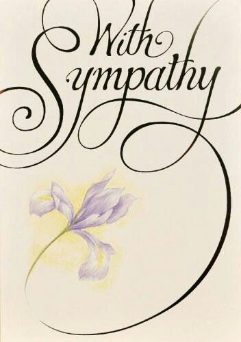 Serenity clipart condolence #10