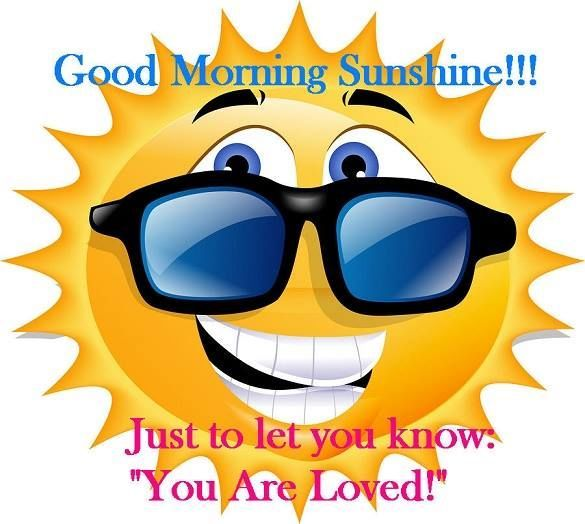 Serenity clipart morning sunshine #11