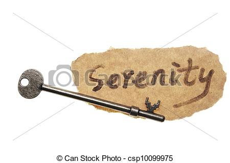 Serenity clipart the word #6