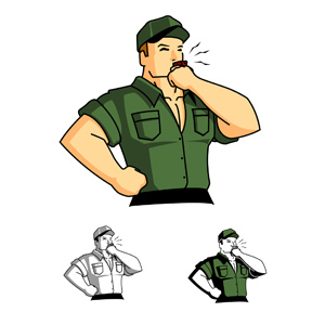 Sergent clipart Sergeant drill collection a Sergeant