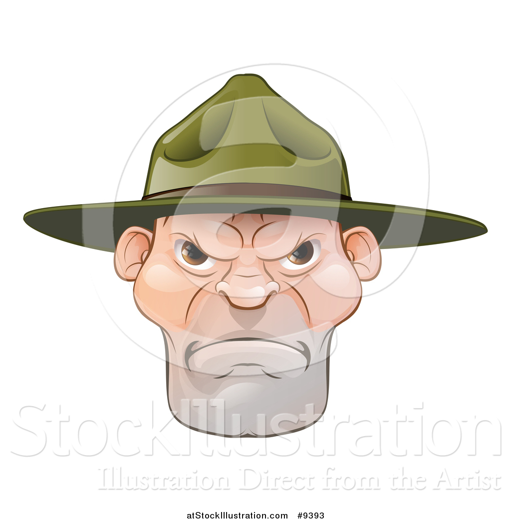 Sergent clipart Sergeant drill collection a Illustration