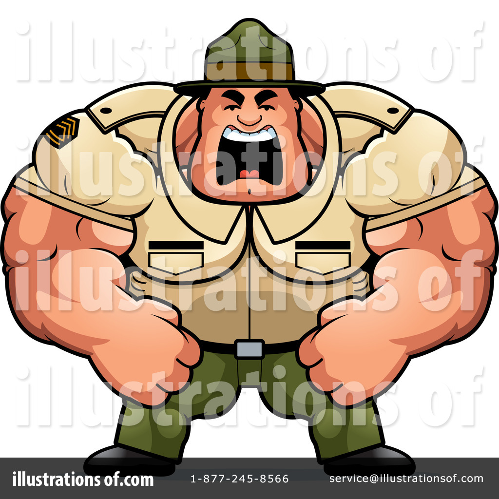 Sergent clipart By Drill Clipart Sergeant Stock