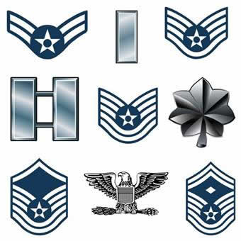 Structure clipart united Rank clipart force United Air