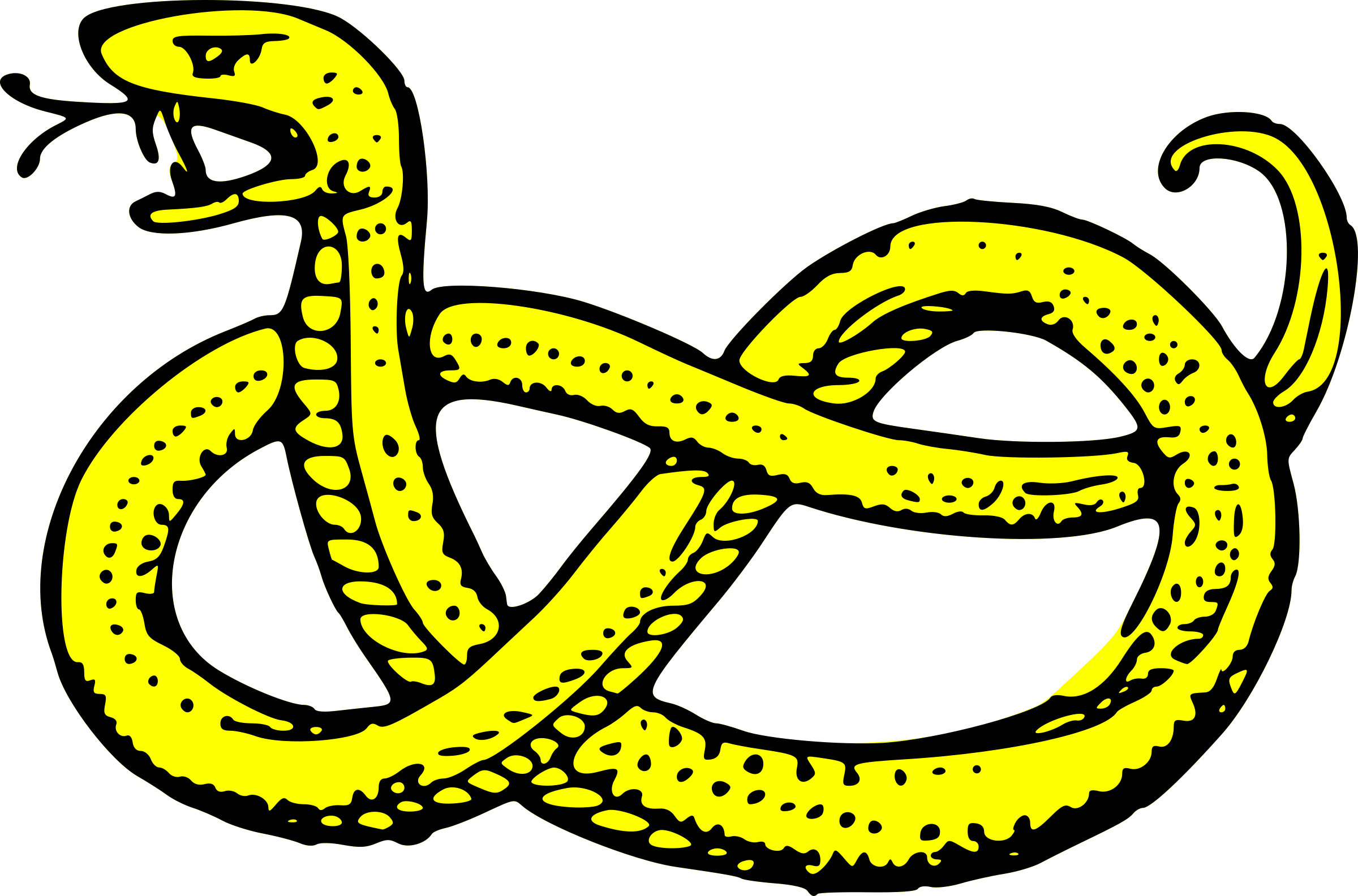 Serpent clipart Serpent serpent nowed Clipart nowed