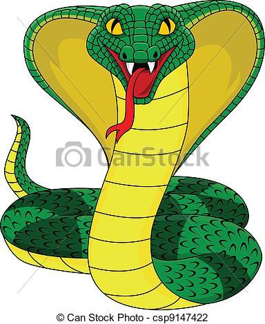 Reptile clipart cobra #9