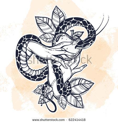 Serpent clipart apple D'images Banque gratuit collection Snake