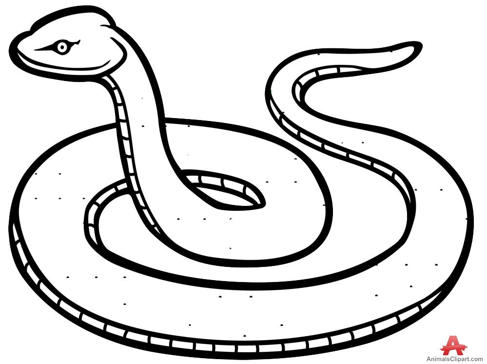 Black Mamba clipart simple Snake clipart black snake collection