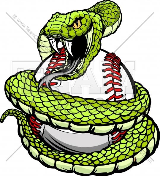 Serpent clipart white background Baseball Baseball Clipart Snake Viper
