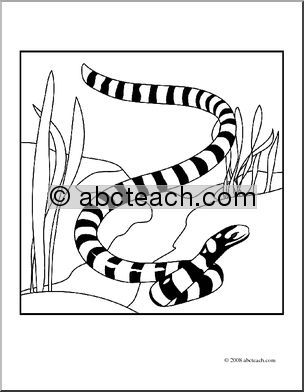Serpent clipart coloring Download Coloring  Free Coloring