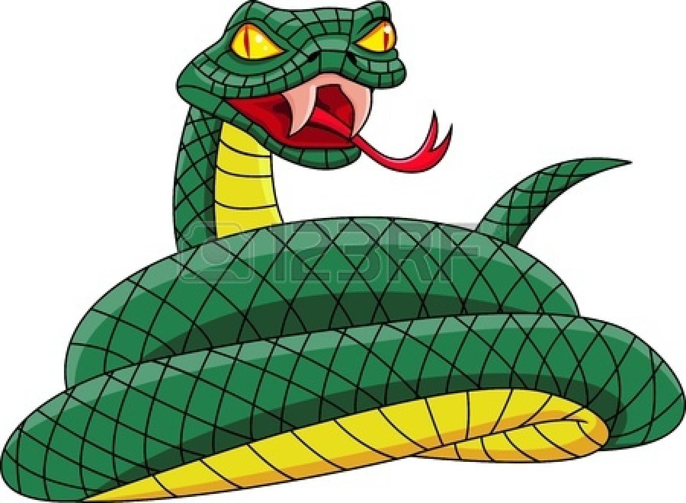 Rattlesnake clipart mean #4