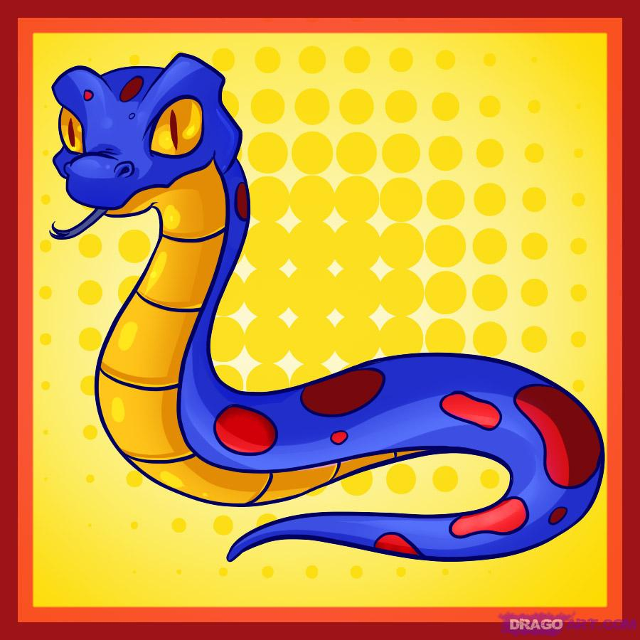 Serpent clipart easy cartoon Snake snake to by draw
