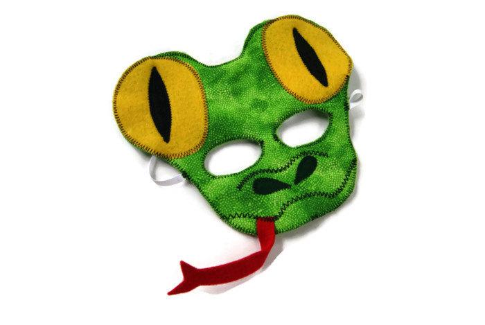 Serpent clipart face mask Birthday Lizard Mask Party Rain